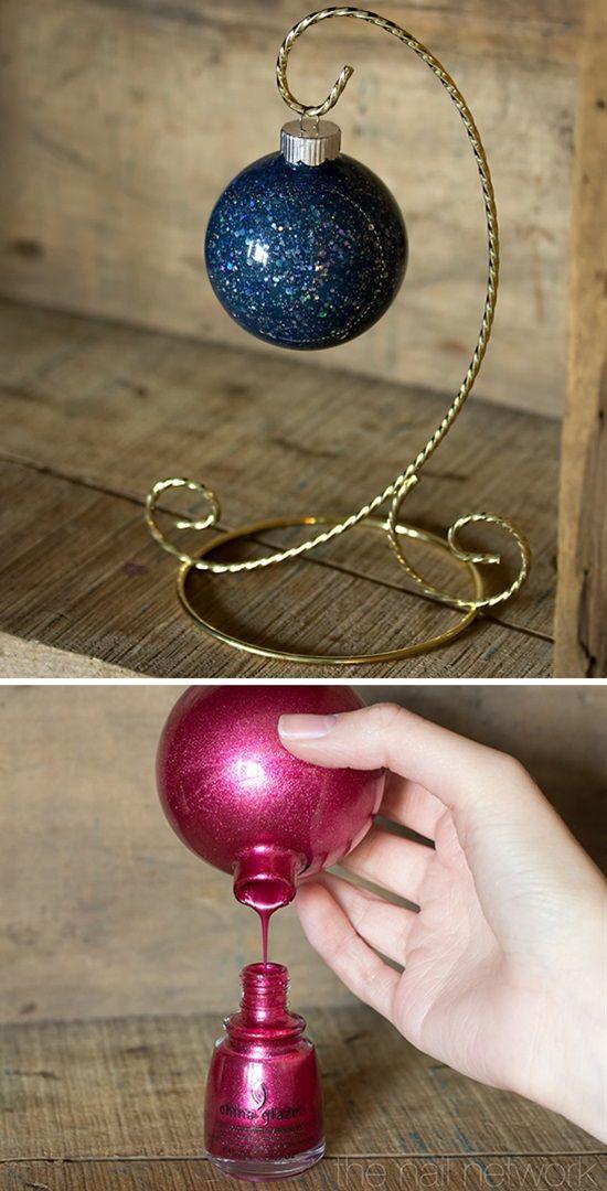Nail Polish Ornaments