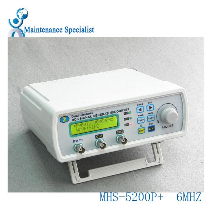 MHS-5200P+ Digital Dual-channel DDS Signal Generator Arbitrary waveform generator Function signal generator 6MHz Amplifier 5MHz #Affiliate