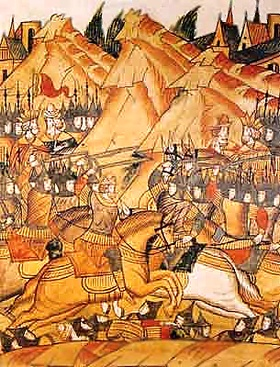 The Battle of Kosovo, also known as the Battle of Kosovo Field or the Battle of Blackbird's Field (Serbian: Косовска битка, Бој на Косову; Kosovska bitka; Boj na Kosovu; Turkish: Kosova Meydan Savaşı), took place on St. Vitus' Day, June 15,[A] 1389, between the army led by Serbian Prince Lazar Hrebeljanović, and the invading army of the Ottoman Empire under the leadership of Sultan Murad I. The army under Prince Lazar consisted of his own troops, a contingent led by Serbian nobleman Vuk…