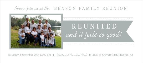 21 best family reunion images on pinterest family for Reunion banners design templates