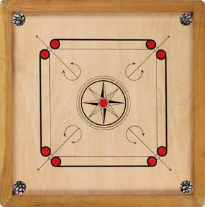 Carrom - one of my favorite games to play!
