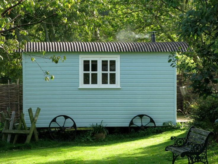 The Yorkshire hut company . Shepherds huts, another idea for an outside studio.
