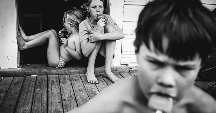 Il Décide D'élever Ses Enfants Loin De La Technologie: Leurs Photos Font Rêver