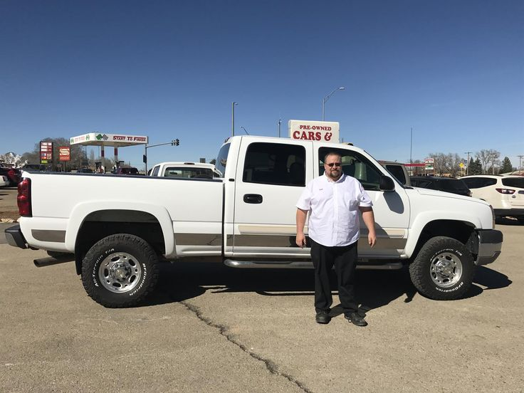BART's new 2004 Chevrolet 2500 ! Congratulations and best wishes from Pre Owned Cars & Trucks, we hope you enjoy your new 2004 Chevrolet 2500 .  Congratulations and best wishes from Pre Owned Cars & Trucks and John Hager.