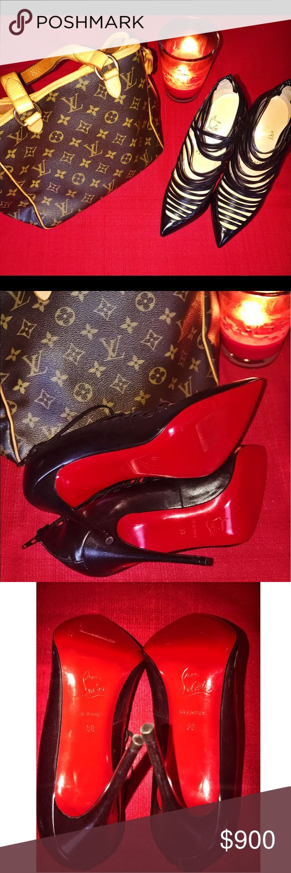 Authentic Christian Louboutin red bottom shoes Christian Louboutin red bottom shoes. NWOT ❌ NO TRADES EXCEPT FOR A NEVERFALL IN GREAT CONDITION OR NEW, OR DIAMOND WEDDING SET. 🌺 Christian Louboutin Shoes Heels
