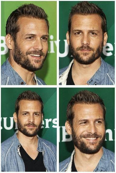 "Gabriel Macht. (Suits, Because I Said So) I think ""Harvey Spector"" should grow a beard! :)"