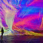 Um perfil que a gente ama andymeetswarhol Repost da obra Poetic Cosmos of Breath de tomassarraceno followthecolours andymeetswarhol installationart tomassarraceno cores colours instalacao arte art