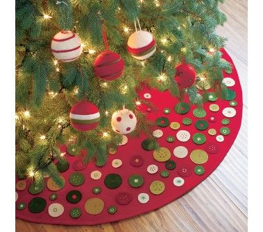 tree skirt - easy to try and make from felt