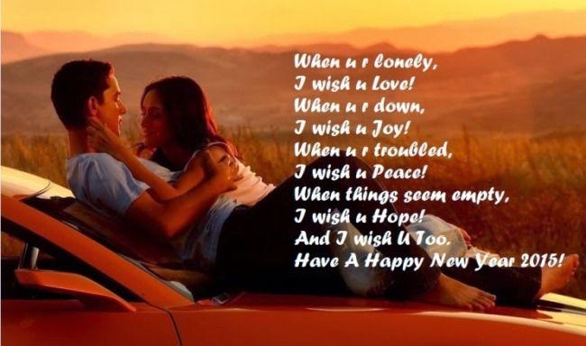 Happy New Year 2017 Wishes Boyfriend Happy New Year Wishes For Boyfriend Romantic New Ye Quotes About New Year Happy New Year Quotes Happy New Year Love Quotes