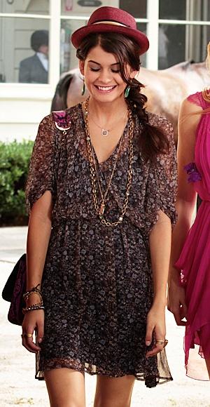 Sage (Sofia Black-D'Elia) wears a Ditsy dress.