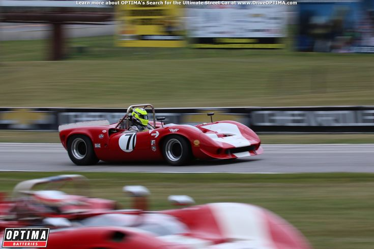 Bob Blain's 1967 #Lola T70 at the 2016 Brian Redman International Challenge at Road America #vintageracecar #vintageracing