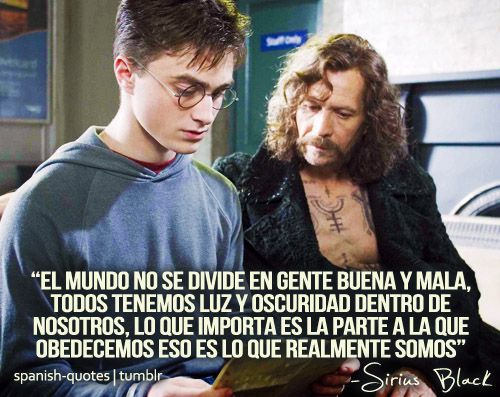 I freaking love this. My two favorite things: Harry Potter and Spanish