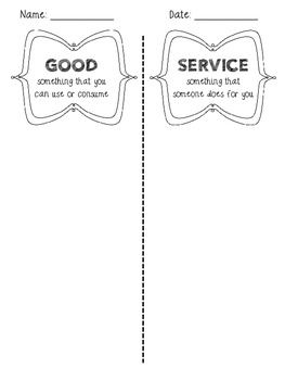 GOODS AND SERVICES SORT - TeachersPayTeachers.com