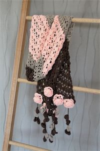 Ashley Rose Scarf - Crochet Pattern
