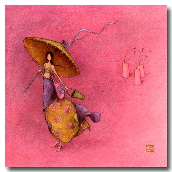 BOISSONNARD Sous l ombrelle