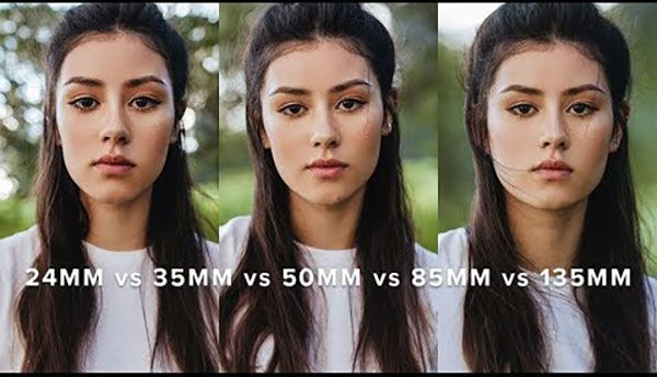 Here S How Portraits Look With A 24mm Vs 50mm Vs 85mm Vs 135mm Lens On A Crop Frame Camera 50mm Photography Lens For Portraits Photography Lenses