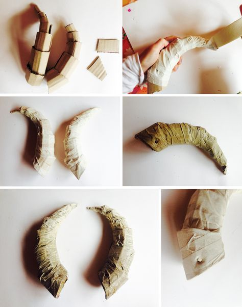 DIY horns how to                                                                                                                                                                                 More