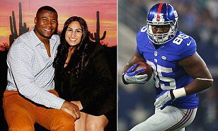 New York Giants tight end Daniel Fells in danger of losing his foot to MRSA | Daily Mail Online