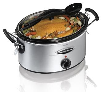 Overall kitchen beast, check out this Hamilton Beach slow cooker.