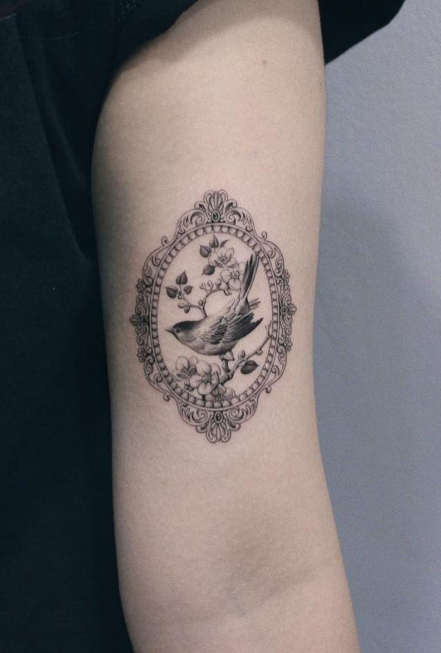 100 Insanely Crazy Black Gray Tattoos That Are Truly Inspiring Thetatt Grey Tattoo Framed Tattoo Tattoos
