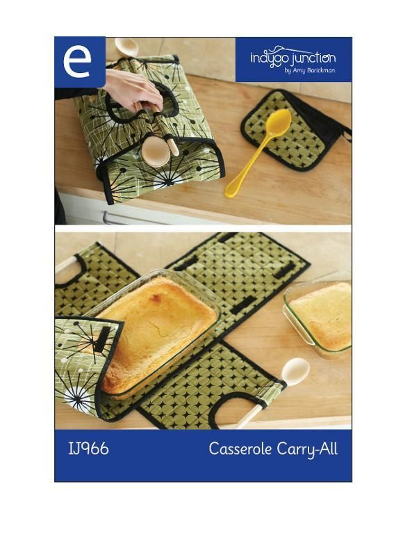Looking for your next project? You're going to love Casserole Carry All by designer Indygo Junction.