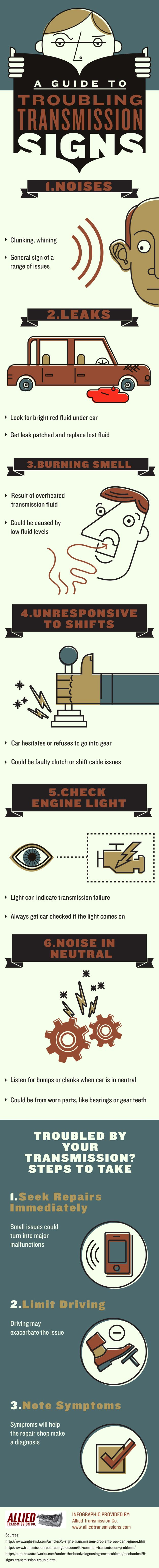 Did you know that your check engine light can indicate transmission failure? That is why you should always get your car checked when the light comes on. Get more tips by looking over this infographic from a transmission repair shop in San Jose.