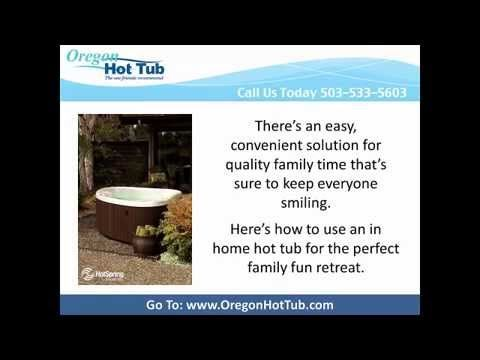 "Hot Tubs Portland, Oregon - Hot Tubs: The Perfect Family Fun Activity - Hot Tub Clearance Sale | Hot Spring Spas for Sale, New, Used Hot Tubs, Spas and Swim Spas for Sale, 97229, 97206, 97223  To learn more, pick up a copy of our free report ""5 Critical Questions You Must Ask Before You Invest in a Hot Tub or Spa"".  Just give us a call ☎ 503-650-8242 or go to http://www.oregonhottub.com 9454 SE 82nd Avenue, Suite A, Portland, OR 97086  Hot Tubs Portland Oregon"