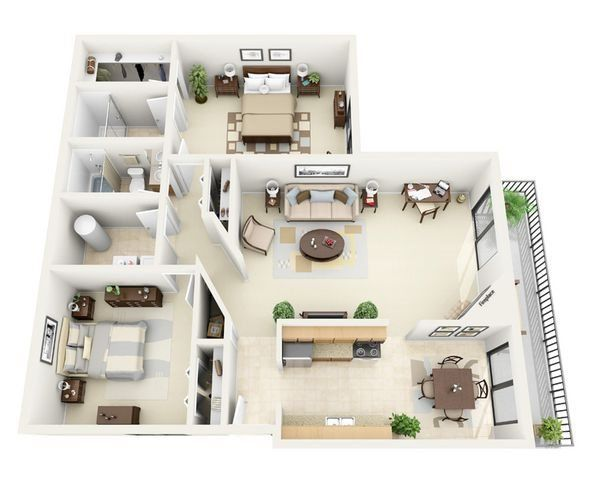 Sonoran Terraces Apartment Homes 1 2 Bedroom Floor Plans Terraceapartments Sonoran Terraces Apartment Home En 2020 Plan Maison Plans Etage Chambre Plan Au Sol