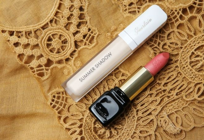Guerlain Terracotta 2015, Summer Shadow White Sand & Kiss Kiss