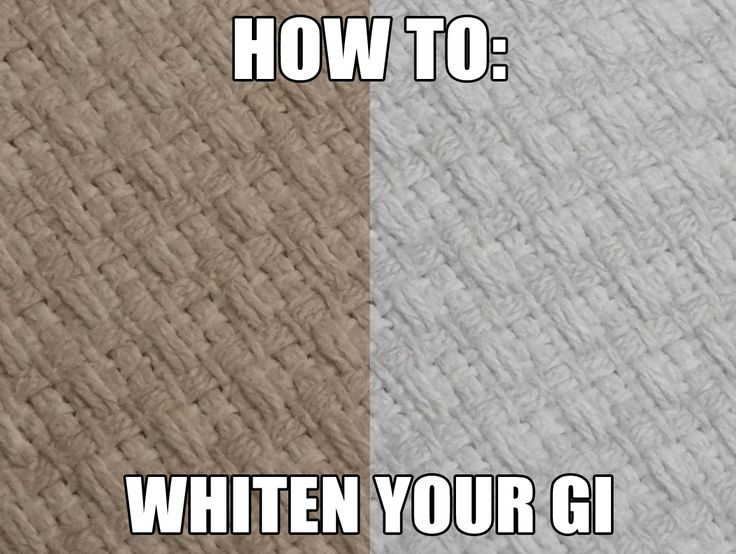 How To Whiten Your Gi (*dobok in our case*) Naturally Without bleach