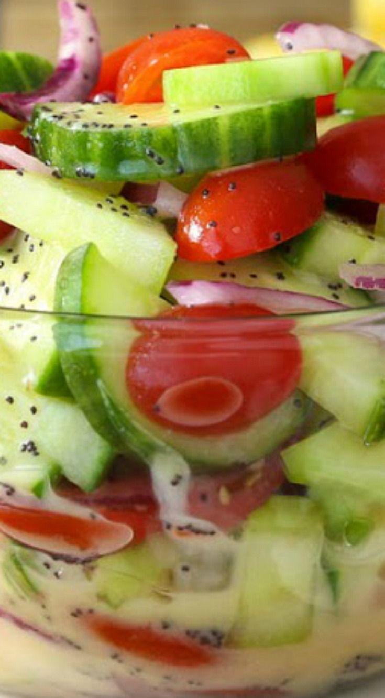 25+ best Cucumber Tomato Salad ideas on Pinterest ...