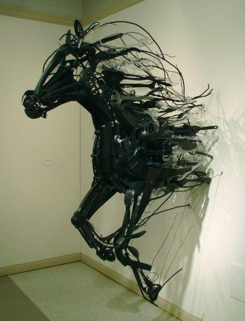 horse art, so cool
