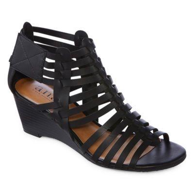 273e9b771244 a.n.a Meadow Womens Wedge Sandals