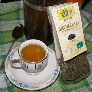 W Mojej Kuchni Lubię.. : bio herbata zielona gunpowder...