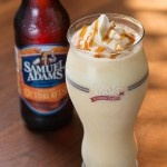 Yum...Sam Adams Octoberfest Milkshake