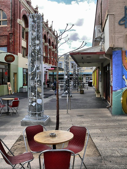 Sparta Place, Brunswick, Melbourne. I love this area. Has great cafe and the tattoo place I go to they are amazing!
