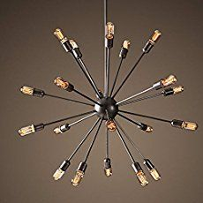 Could this be the best place to buy Sputnik lights in the U.S.? We think maybe so. We take a look at the Sputnick chandeliers and other retro lighting from Practical Props.