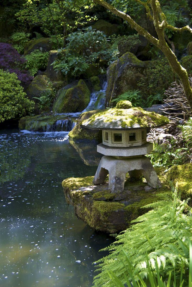 Japanese zen gardens with pond - Japanese Garden Portland Oregon
