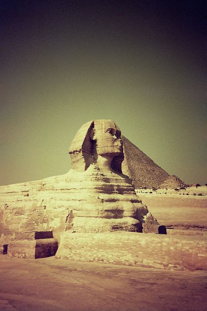 Great Sphinx of Giza | Stunning Places #Places