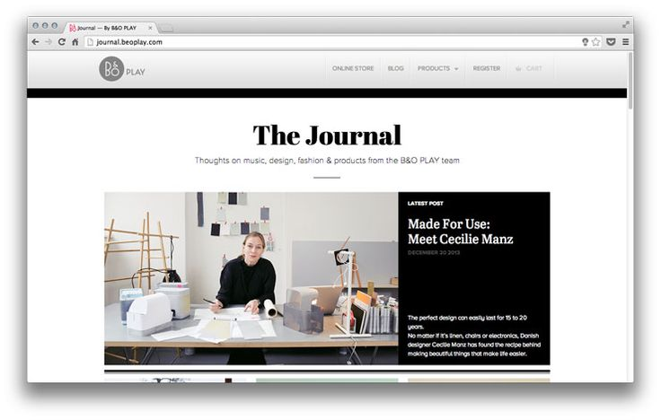 Abril in use at The Journal: a high quality newspaper that uses TypeTogether's Abril in headlines and text. For the magazine title, in both the digital and the printed version, the design team has chosen Abril Fatface.