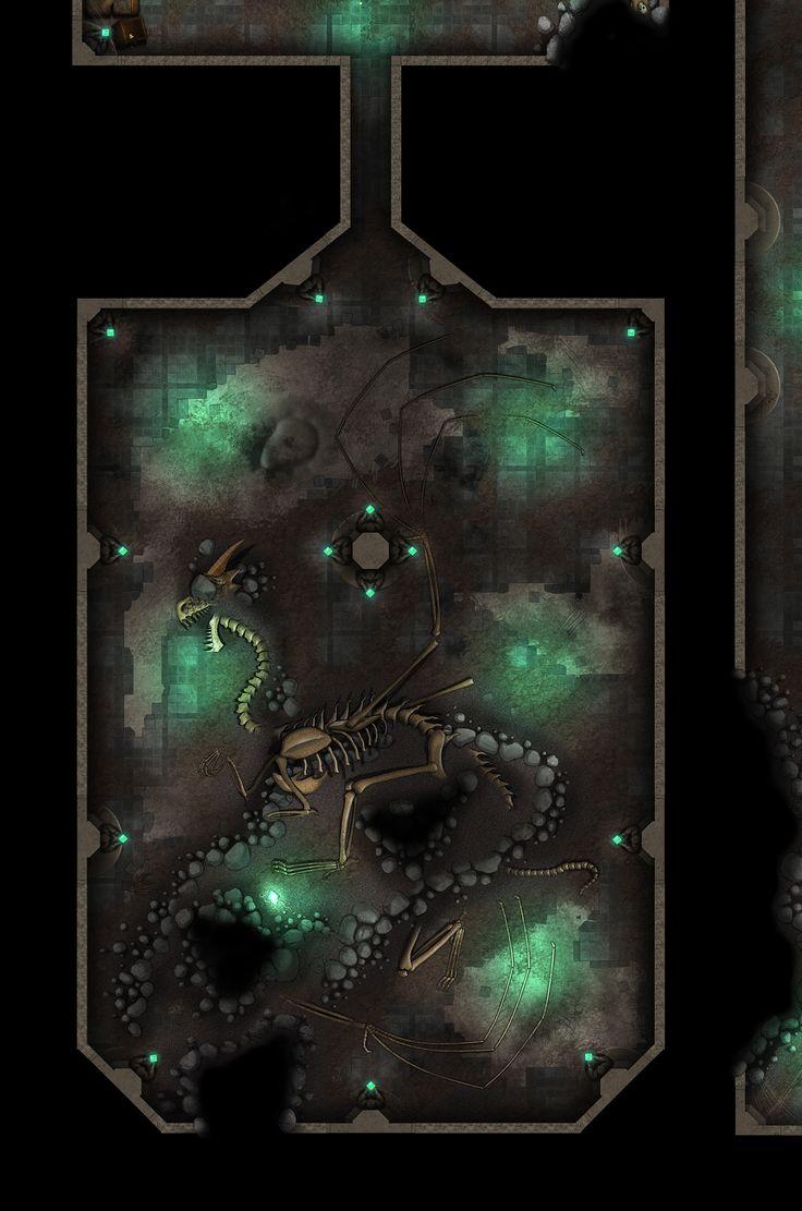 Dragon Vault WIP by Girot