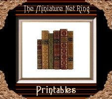 Tree Feathers -- all kinds of miniature printables