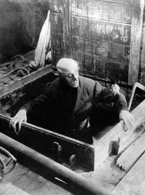 """Max Shreck as Count Orlok in """"Nosferatu, eine Symphonie des Grauens"""", directed by F.W. Murnau, 1922"""