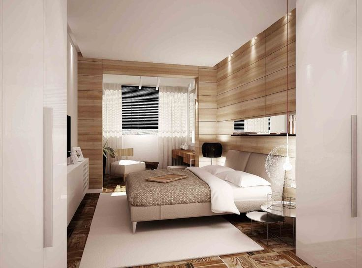 Bedroom:Contemporary Wood Paneled Bedroom Design Ideas With Modern Bed Sets With White Cushions Also Bedding And Wooden Cabinet Also Round Table And Carpet As Well As Laminate Texture Flooring Its Cool Ideas Some Ideas of Modern Bedroom Design to Inspire You
