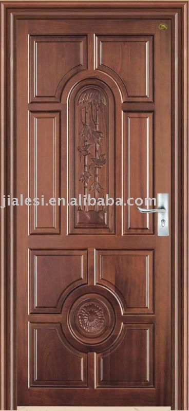Source Hot Selling High Quality Low Price Single Wooden Door Design , Solid  Wood Door Part 73