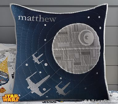 Star Wars™ Millennium Falcon™ Quilted Bedding #pbkids