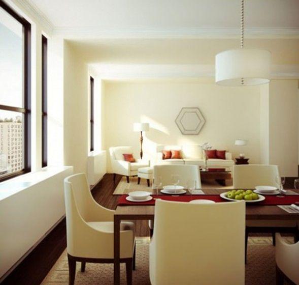 10 comedores para apartamentos peque os deco pinterest - Apartamentos pequenos disenos ...