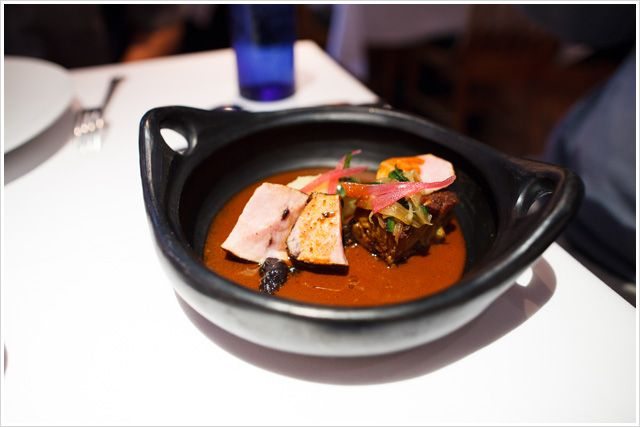 Cochinita Pibil from * 1-Michelin Star rated TOPOLOBAMPO in Chicago