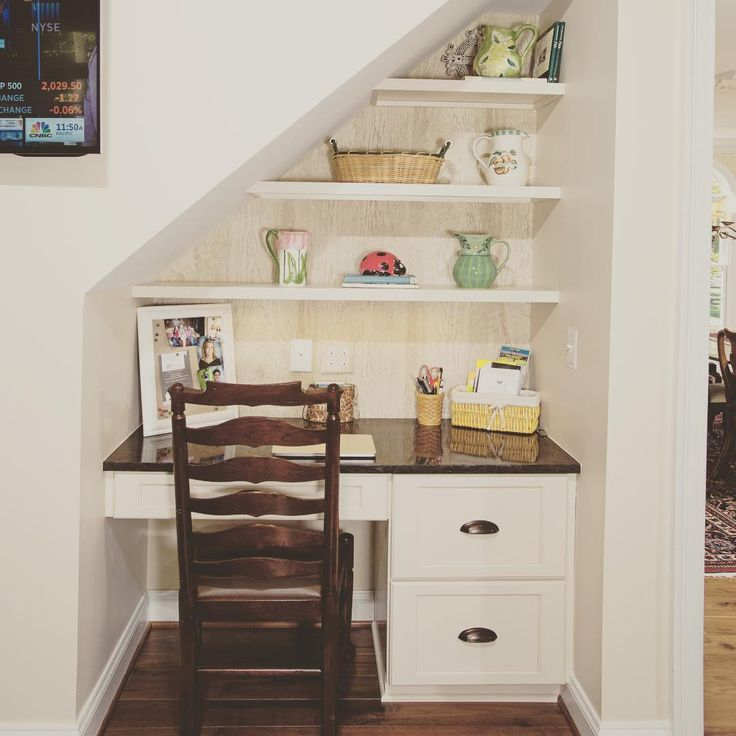 Open Floor Plan Kitchen Renovation In Northern Virginia: 17 Best Ideas About Small Desk Areas On Pinterest