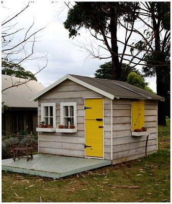 LOVE! yellow door and shutters, too? Mmmkay!